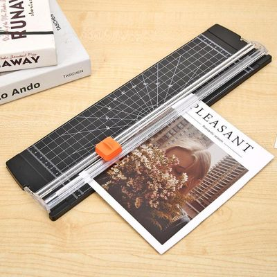Portable Paper Cutter Plastic Base Office Home Stationery Knife A5/A4/A3 Paper Card Cutting Blade Art Trimmer Crafts Tools