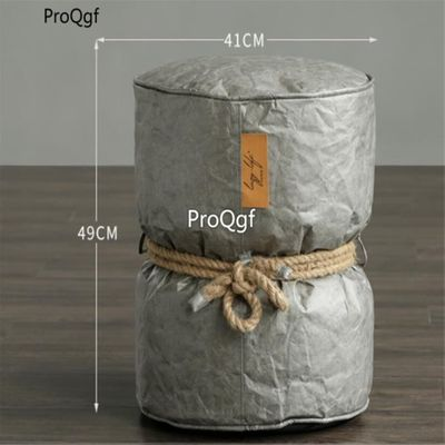 Ngryise 1 Set lazy cow paper beanbag stool 40*50cm
