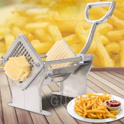 Household fries machine Manual slitting machine Cut potato stainless steel Wire cutter Commercial Multifunction Cutting machine