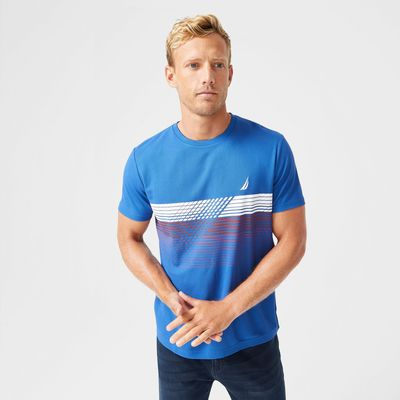 Nautica Sustainably Crafted Navtech Graphic T-shirt