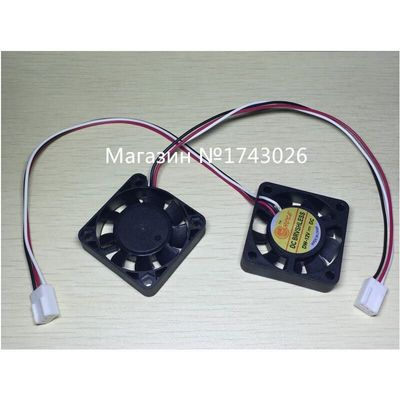 Pengiriman gratis 5 pcs/lot Small fan 4*4CM 4010S computer / case /CPU/ north and South Bridge fan 3 wire with plug ic ...