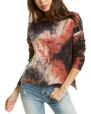 FATE Distressed Pullover