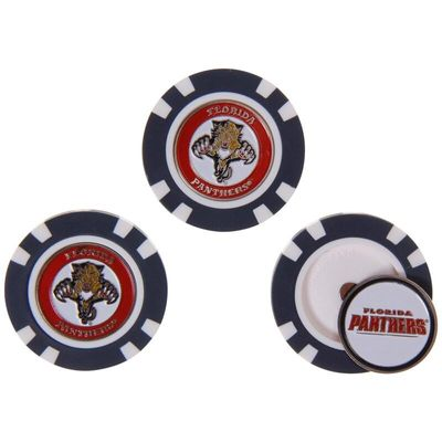 Florida Panthers 3-Pack Poker Chip Golf Ball Markers