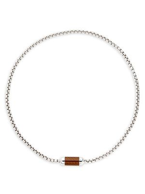 Tateossian Sterling Silver Necklace