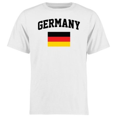 Germany Flag T-Shirt - White