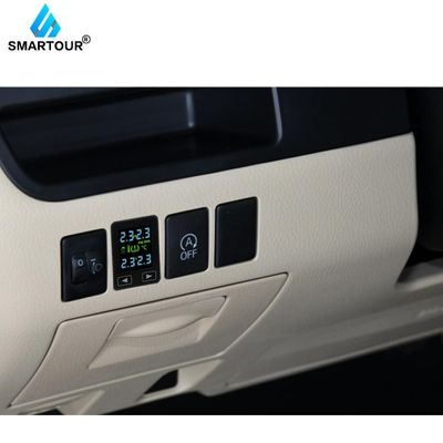 Smartour TPMS 4 External Sensors LCD Display Tire Pressure Monitoring System Wireless Auto PSI BAR Diagnostic Tool for Toyota