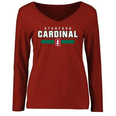 Stanford Cardinal Women's Team Strong Long Sleeve T-Shirt - Cardinal