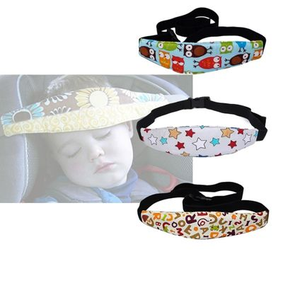 Head Neck Support Set, Adjustable Infants and Baby Sleep Neck Relief Fixing Band Baby Kid Head Support Holder Sleeping Belt Car