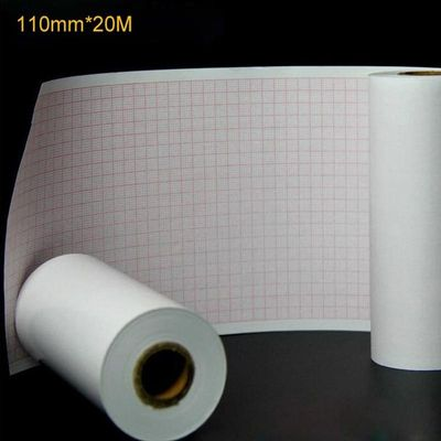 Thermal paper Roll ECG Paper 110mm*20M for CE Marked Digital 12 Leads 3/6 Channel ECG Machine ECG600G Insulation Paper (1Pcs)