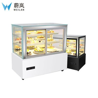 1500*670*1200mm 220V Display Cabinet And Showcase For Bakery Shop