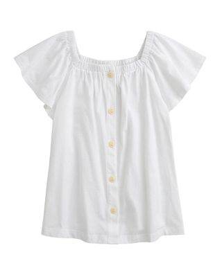 crewcuts by J.Crew Button-Front Top