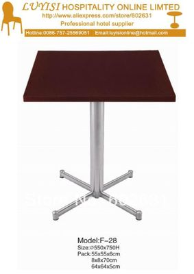 Cocktail coffee table,stainless steel base,MDF top,kd packing 1pc/carton,fast delivery