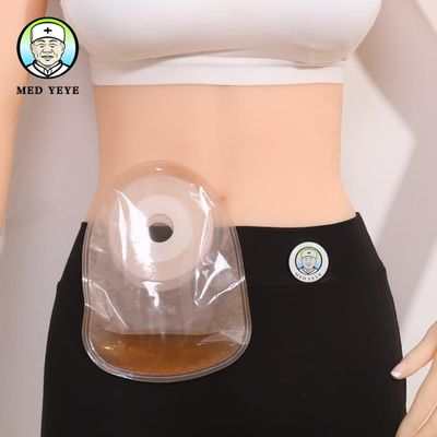 Medyeye colostomy bags 1 piece systerm ostomy bag ostomia stoma pouch stomahesive ostom supplies medical pouch 15 pcs