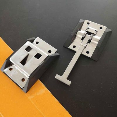 Truck Door Hook RV Easy Install With Bracket T Shaped Buckle Trailer Durable Stainless Steel Polished Accessories Universal