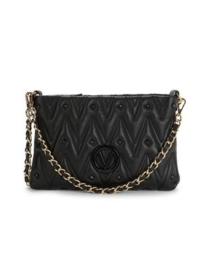 Valentino by Mario Valentino Vanilled Quilted Leather Crossbody Bag