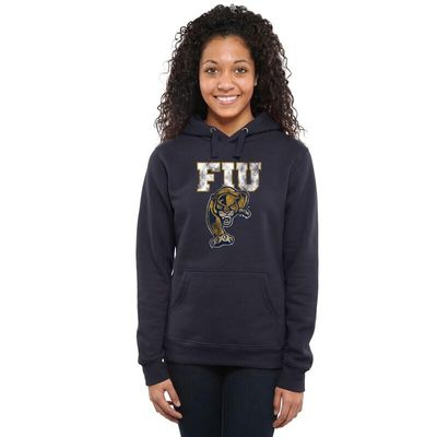FIU Panthers Women's Classic Primary Pullover Hoodie - Navy