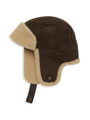 UGG Sheepskin Trapper Hat