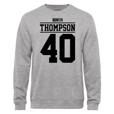 Juwan Thompson NFLPA Player Issued Sweatshirt - Ash