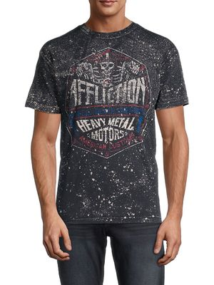 Affliction High Speed Skull Graphic T-Shirt