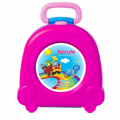 Portable Cute PP Urinal Outdoor Travel Training Toilet Seat Toddler Car Large Capacity Potty With Handle Kids