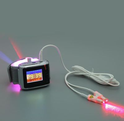 lllt laser therapy device wrist watch diabetic treatment promoting blood circulation cold laser therapy physiotherapy product