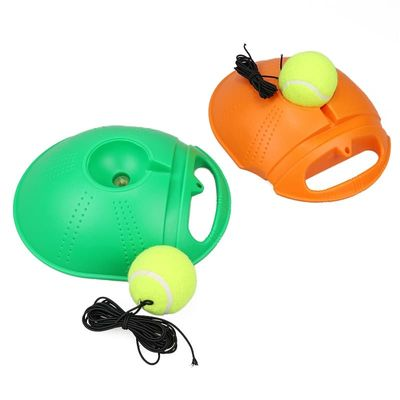 Heavy Duty Tennis Training Tool Exercise Tennis Ball Self-study Rebound Ball With Tennis Trainer Baseboard Sparring Device