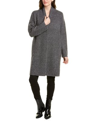 Vince Boucle Wool & Alpaca-Blend Cardigan Coat