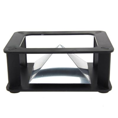 Vanpower 3D Holographic Projection Display Stand Pyramid Hologram Display Luxury Showcase For 3.5-6inch Mobile Phone