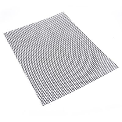 Non-stick Barbecue Grilling Mats High Security Grid Shape BBQ Mat with Heat Resistance 30x40x0.2cm For Outdoor Activities