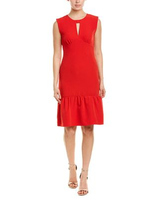 Milly Peyton Silk-Blend Sheath Dress