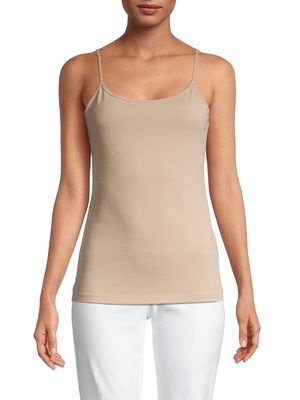 Saks Fifth Avenue Cotton-Blend Cami Top