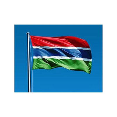 GAMBIA FLAG (OUTDOOR)