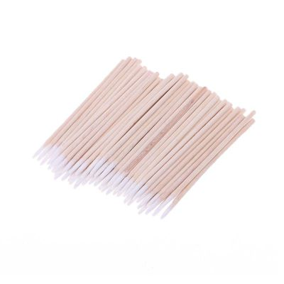 100pcs/pack Cotton Swabs Cleaning Tools For iPhone Samsung Huawei Charging Port Headphone Hole Cleaner Phone Repair Tools 77UC