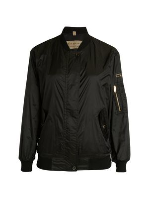 Burberry Mayther Technical Bomber Jacket