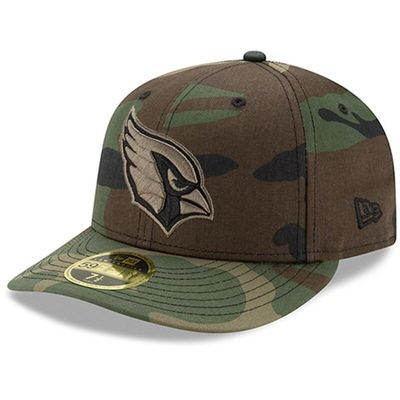 Arizona Cardinals New Era Woodland Camo Low Profile 59FIFTY Fitted Hat