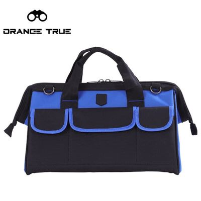 Tool Bag Handles Oxford Waterproof Wear-resistant 14 inch Toolkit Instrument  Organizer Pouch Bag Case