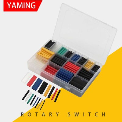 580pcs with box Assorted Polyolefin Heat Shrink Tubing Cable Sleeves Wrap Wire Set Multicolor Insulation Shrinkable Tube