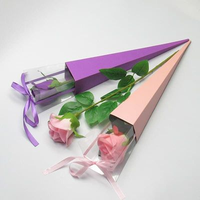 Valentine's Day Gift Box Single rose flower box holiday custom gift box flowers package