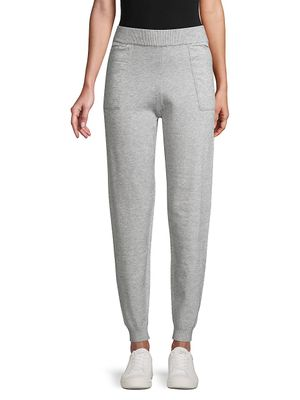 Lucca High-Waisted Jogger Pants