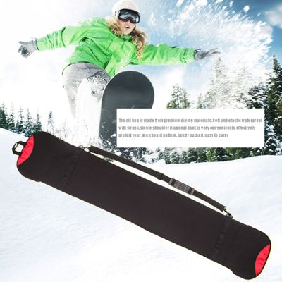 Sports Dumpling Monoboard Skiing Easy Carry Accessory Plate Outdoor Snowboard Bag Scratch Resistant Protective Case Winter
