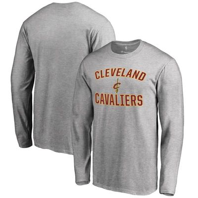 Cleveland Cavaliers Victory Arch Long Sleeve T-Shirt - Gray