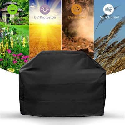 BBQ Cover Waterproof Grill Cover Dust-proof Cloth Cover Protection Square House Barbecue Accessories for Outdoor BBQ Supplier