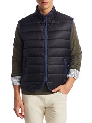 Saks Fifth Avenue COLLECTION Zippered Puffer Vest