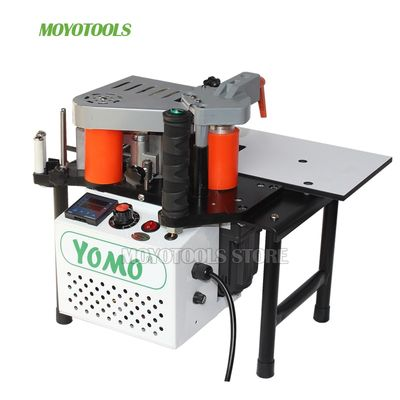 wood manual edge banding machine PVC portable Edge Bander Double Side Gluing 110V/220V 1200W  Woodworking Machinery MY50