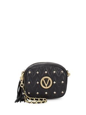 Valentino by Mario Valentino Nina Studded Leather Crossbody Bag