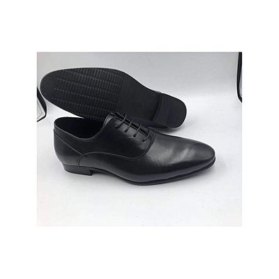 Formal Shoe With Lace Up- Black