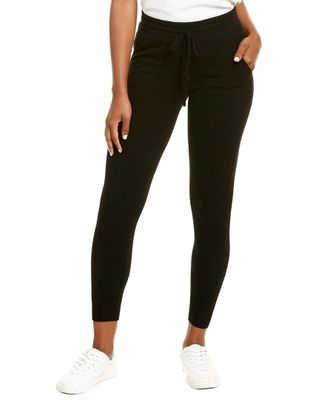 Amicale Cashmere Pipping Cashmere Jogger