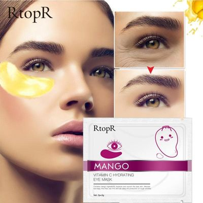 Collagen Crystal Eye Mask Face Mask Gel Eye Patches yes Sleep Mask Remove Dark Circles Hydrogel Patch Women Anti-Puffiness Cream