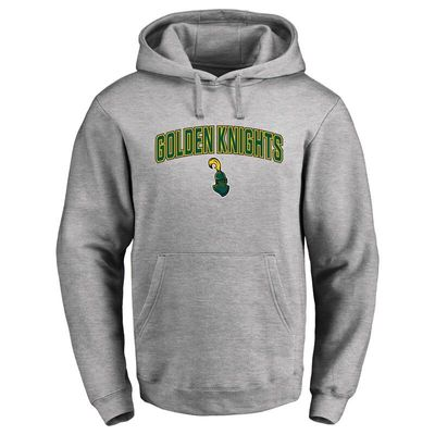 Clarkson Golden Knights Proud Mascot Pullover Hoodie - Ash -