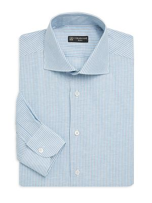 Corneliani Regular-Fit Pinstripe Dress Shirt